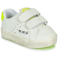 Shoes Children Low top trainers Gioseppo AARLEN White / Yellow