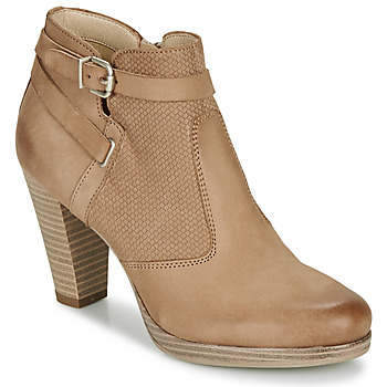Shoes Women Ankle boots André BERNETTA Camel