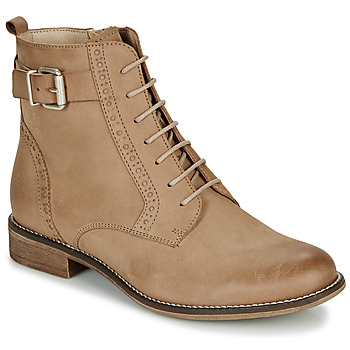 Shoes Women Mid boots André CHEPTELA Camel