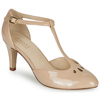 Shoes Women Court shoes André FALBALETTE Nude