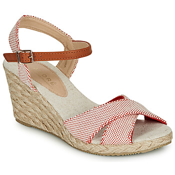 Shoes Women Sandals André PAULETTA Red