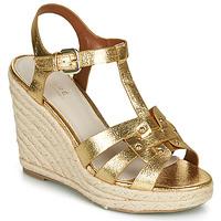 Shoes Women Sandals André PERLINE Gold