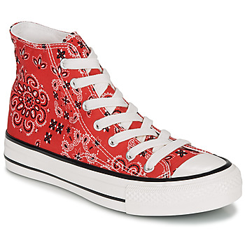 Shoes Women High top trainers André HEAVEN Red