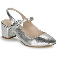 Shoes Women Ballerinas André JONNA Silver
