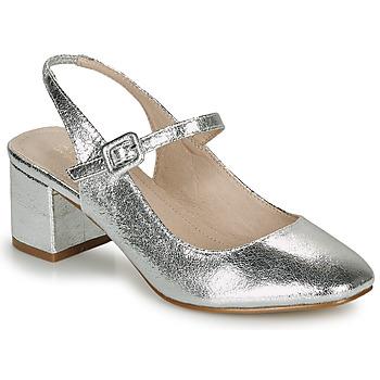 Shoes Women Ballerinas André JONNA Silver