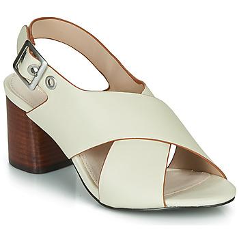 Shoes Women Sandals André JANNINE Beige