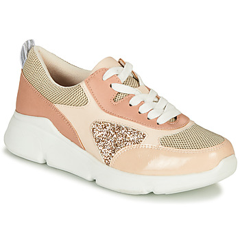Shoes Women Low top trainers André PORTIA Pink