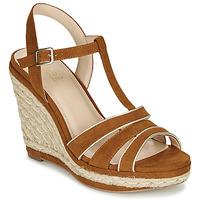 Shoes Women Sandals André JULY Camel