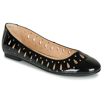 Shoes Women Ballerinas André JENNY Black / Varnish