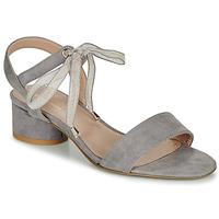 Shoes Women Sandals André PAULENE Grey