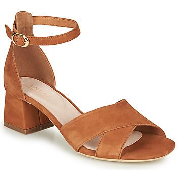Shoes Women Sandals André JAYLA Camel