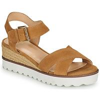 Shoes Women Sandals André EMILIA Camel