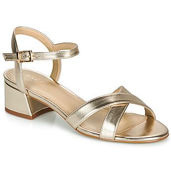 Shoes Women Sandals André VICTORIA Gold