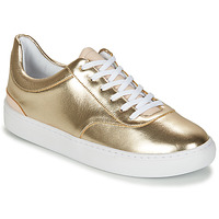 Shoes Women Low top trainers André VIORNE Gold