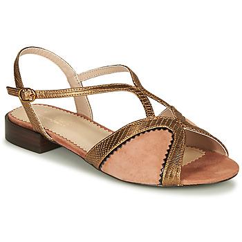Shoes Women Sandals André LA TRAPEZISTE Pink