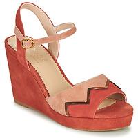 Shoes Women Sandals André LA JONGLEUSE Pink