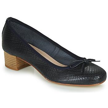 Shoes Women Ballerinas André POEME Marine