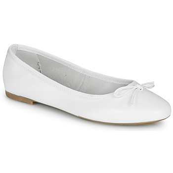 Shoes Women Ballerinas André PIETRA White