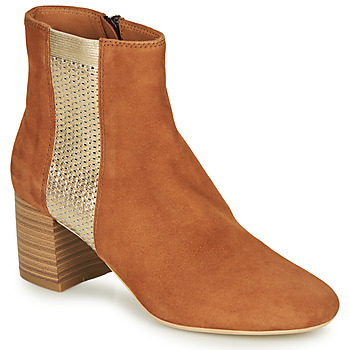 Shoes Women Mid boots André BINDY Camel
