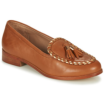 Shoes Women Loafers André BRETTA Camel