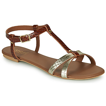 Shoes Women Sandals André RODHIE Camel