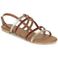 Shoes Women Sandals André MANDIE Camel