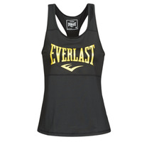 material Women Tops / Sleeveless T-shirts Everlast EVL TANK TOP TK Black / Gold