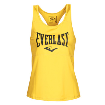 material Women Tops / Sleeveless T-shirts Everlast EVL TANK TOP TK Gold / Black