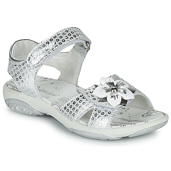 Shoes Girl Sandals Primigi  Silver
