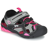 Shoes Girl Sports sandals Primigi 5460011 Black / Pink