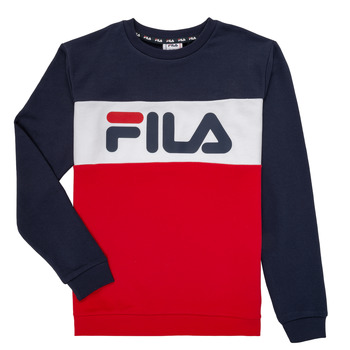 material Children sweaters Fila FELIX Marine / Red