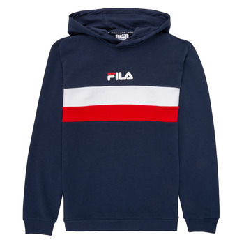 material Children sweaters Fila FLORINAE Marine / Red