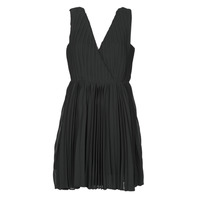 material Women Short Dresses Moony Mood MINIZIA Black
