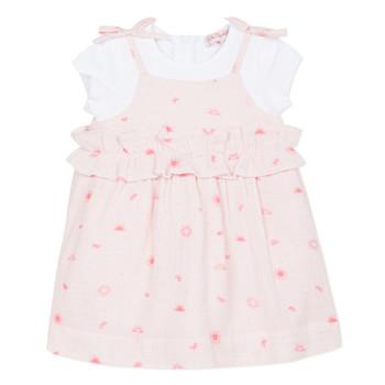 material Girl Short Dresses Lili Gaufrette NAZETTE Pink