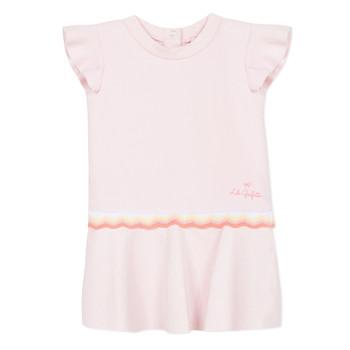 material Girl Short Dresses Lili Gaufrette  Pink