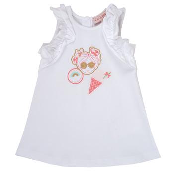 material Girl Short Dresses Lili Gaufrette NAVETTE White
