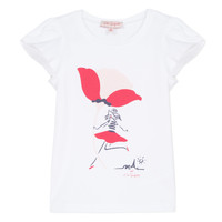 material Girl short-sleeved t-shirts Lili Gaufrette KATINE White