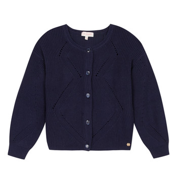 material Girl Jackets / Cardigans Lili Gaufrette MADINE Marine