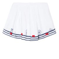 material Girl Skirts Lili Gaufrette MAYA White