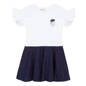 material Girl Short Dresses Lili Gaufrette MENDI White
