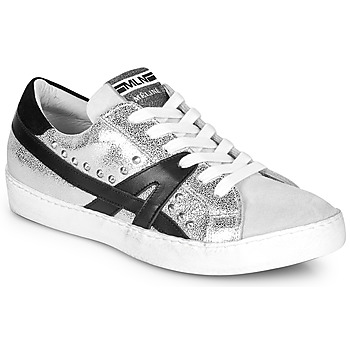 Shoes Women Low top trainers Meline GELOBELO Silver