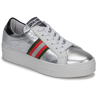 Shoes Women Low top trainers Meline GETSET Silver