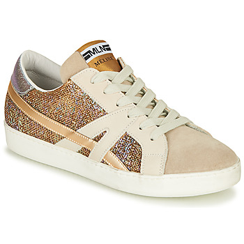 Shoes Women Low top trainers Meline GALLI Gold