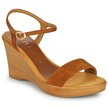 Shoes Women Sandals Unisa RITA Brown