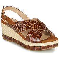 Shoes Women Sandals Unisa KASTRO Camel