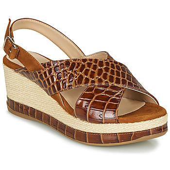 Shoes Women Sandals Unisa KASTRO Camel