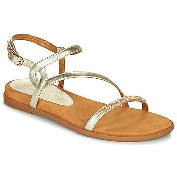 Shoes Women Sandals Unisa CLARIS Gold