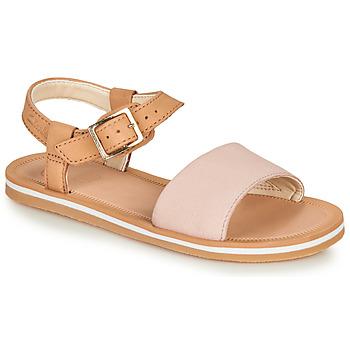 Shoes Girl Sandals Clarks SKYLARKHOPE K Pink