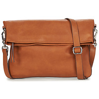Bags Women Shoulder bags Esprit NOOS_V_FLPOVSHB Brown