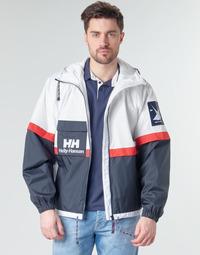 material Men Blouses Helly Hansen RAIN White / Marine